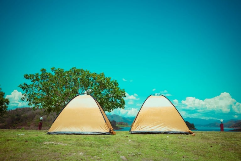 clean and tidy tents