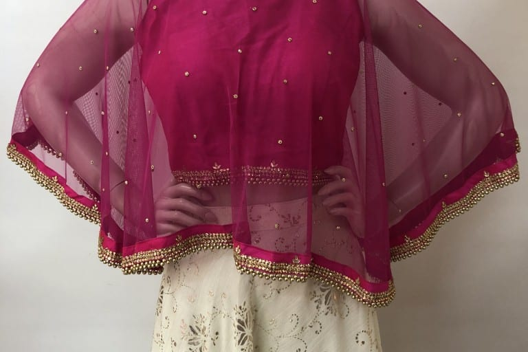 Here's how you can restyle your mom's old saree blouses!