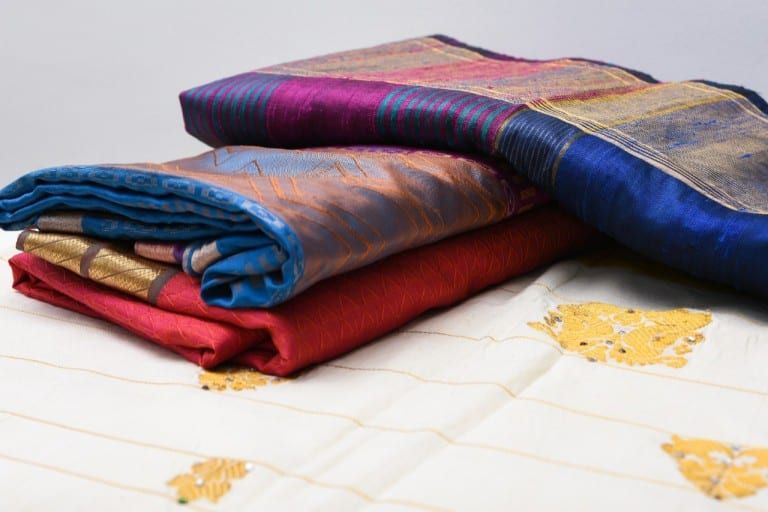 Do you have too many old sarees? Check out these simple ways in which you can reuse them!