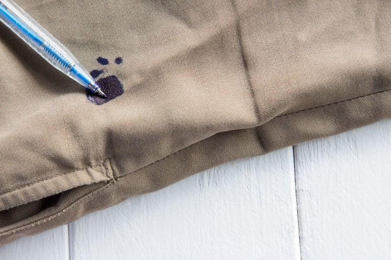 ink stains on a white uniform are a mothers nightmare heres a simple method to make your life easier