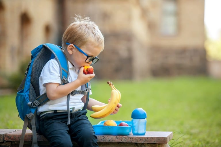 Did you child return home with food on his uniform? Here are a few tips and tricks for an easy wash!