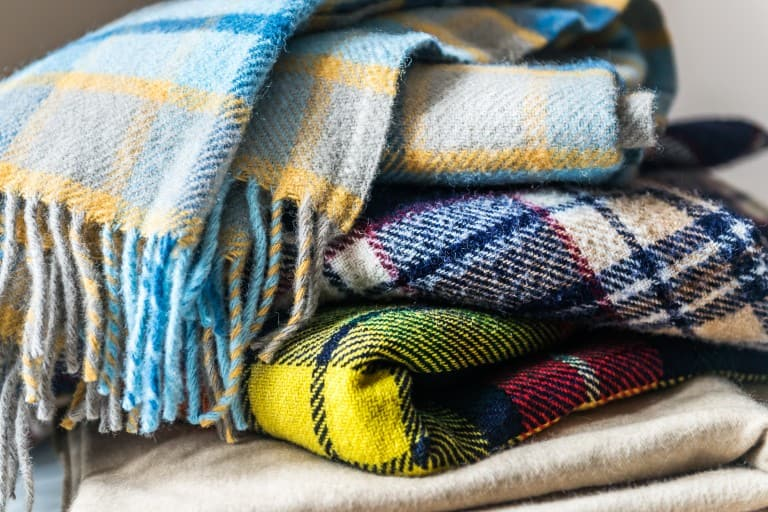 Did you accidently drop some paint on your blanket? Follow these simple blanket cleaning tips!