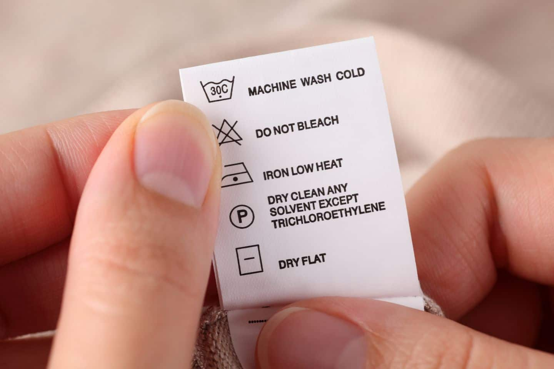 zeichen bedeutung beim waschen