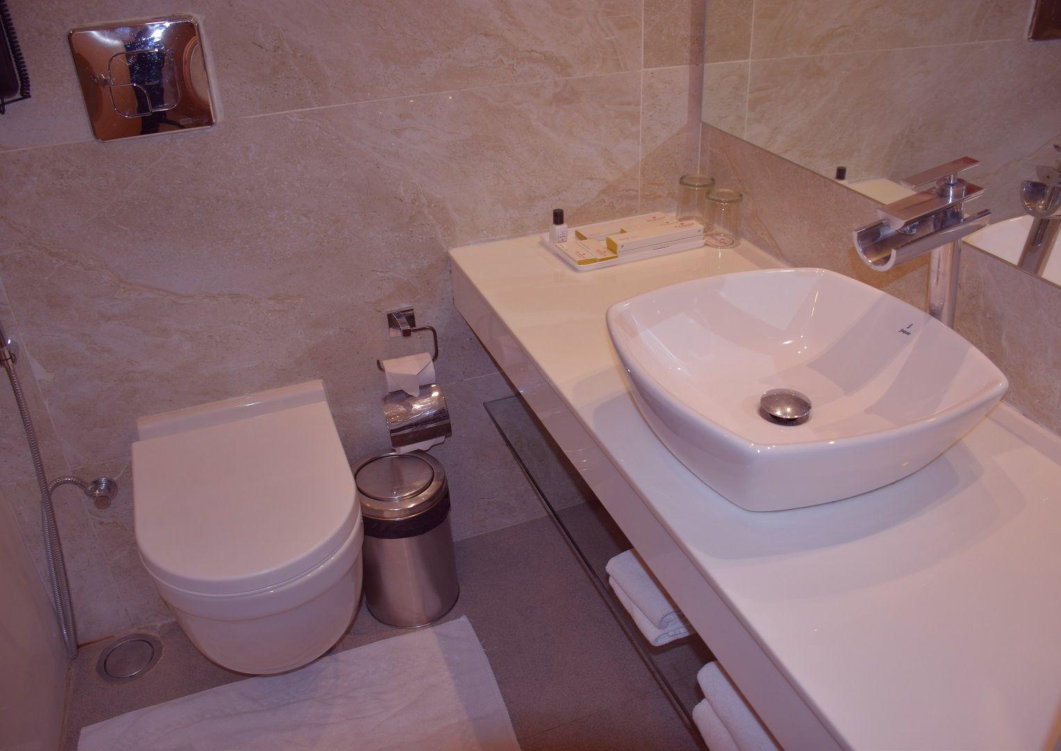 bathroom shiny hero