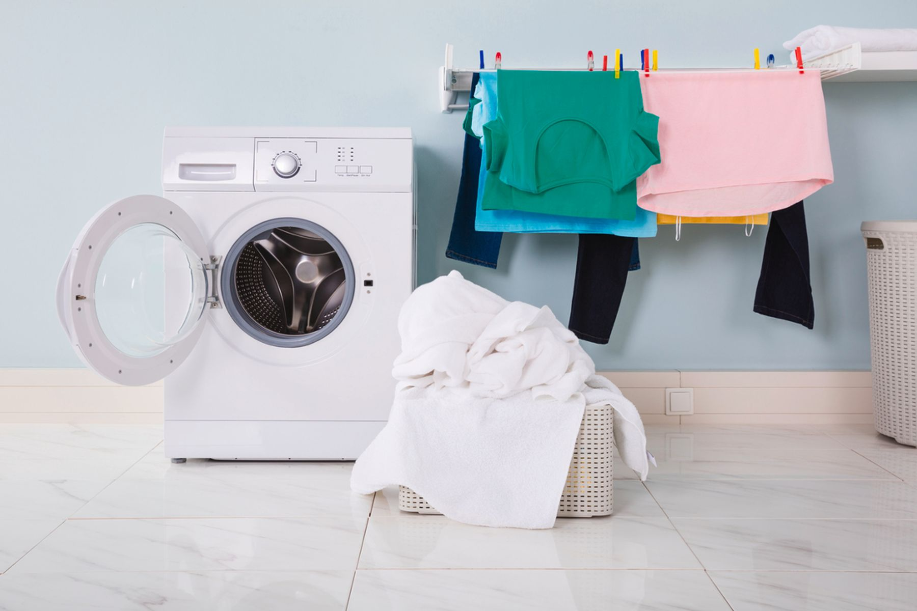Drying Clothes Indoors