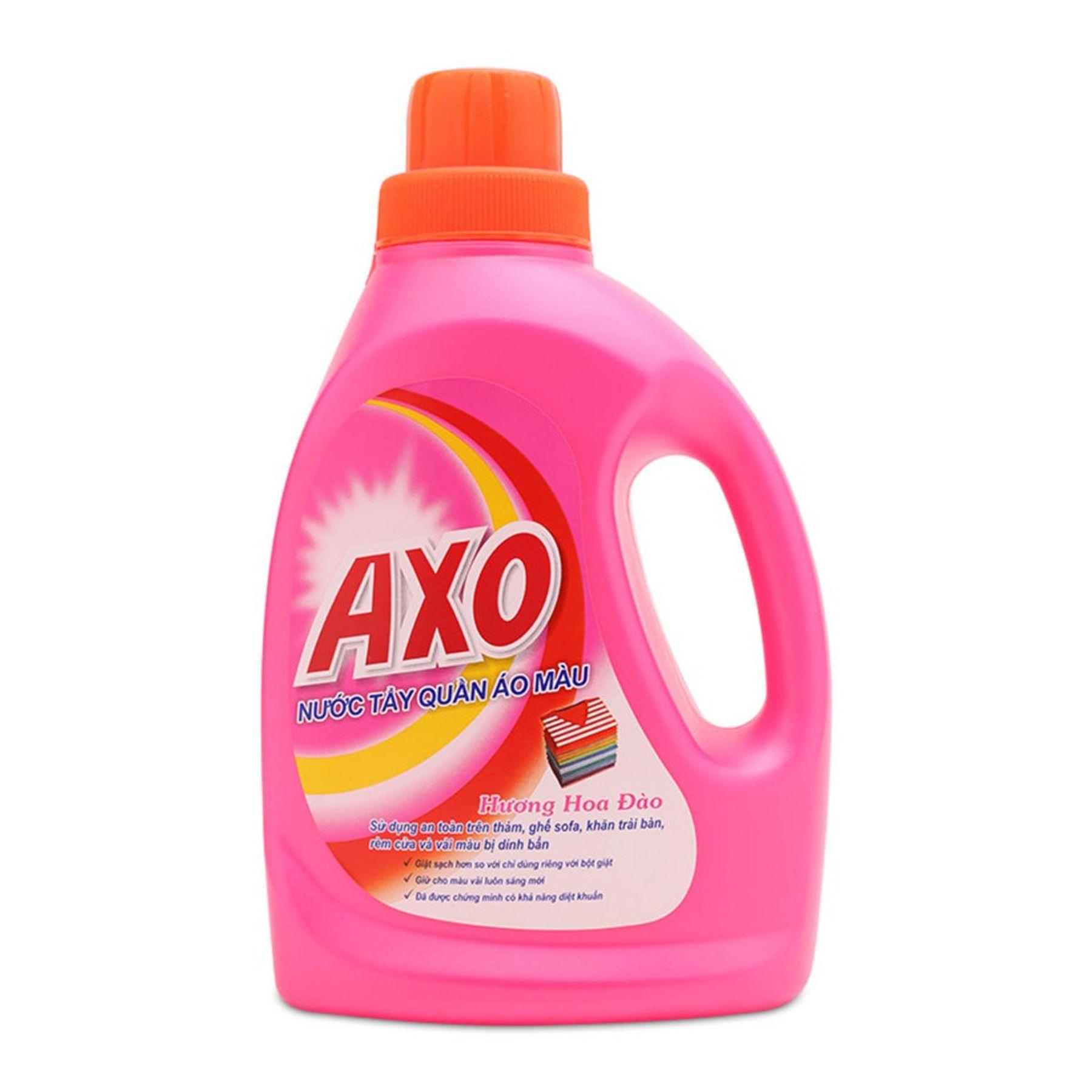Thuốc tẩy quần áo màu AXO