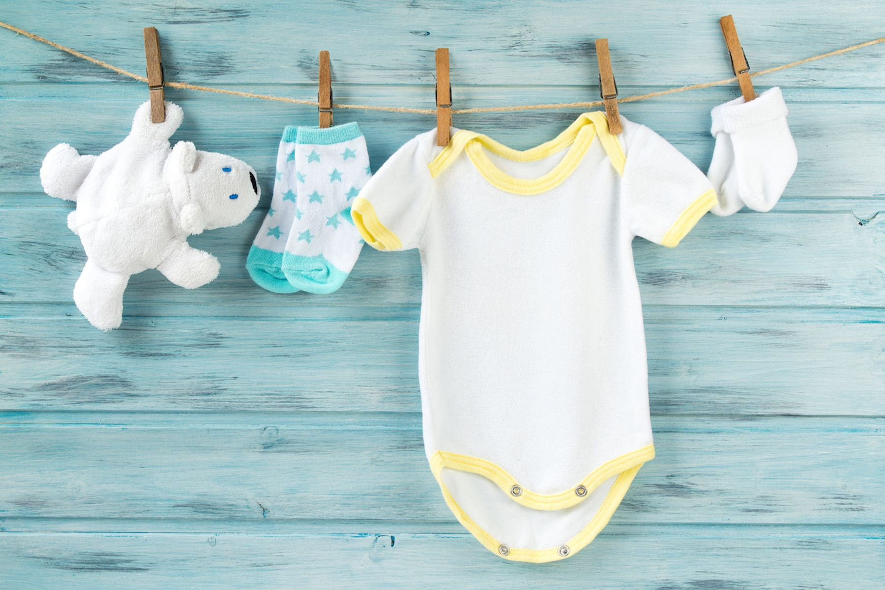 Como lavar roupa de bebe