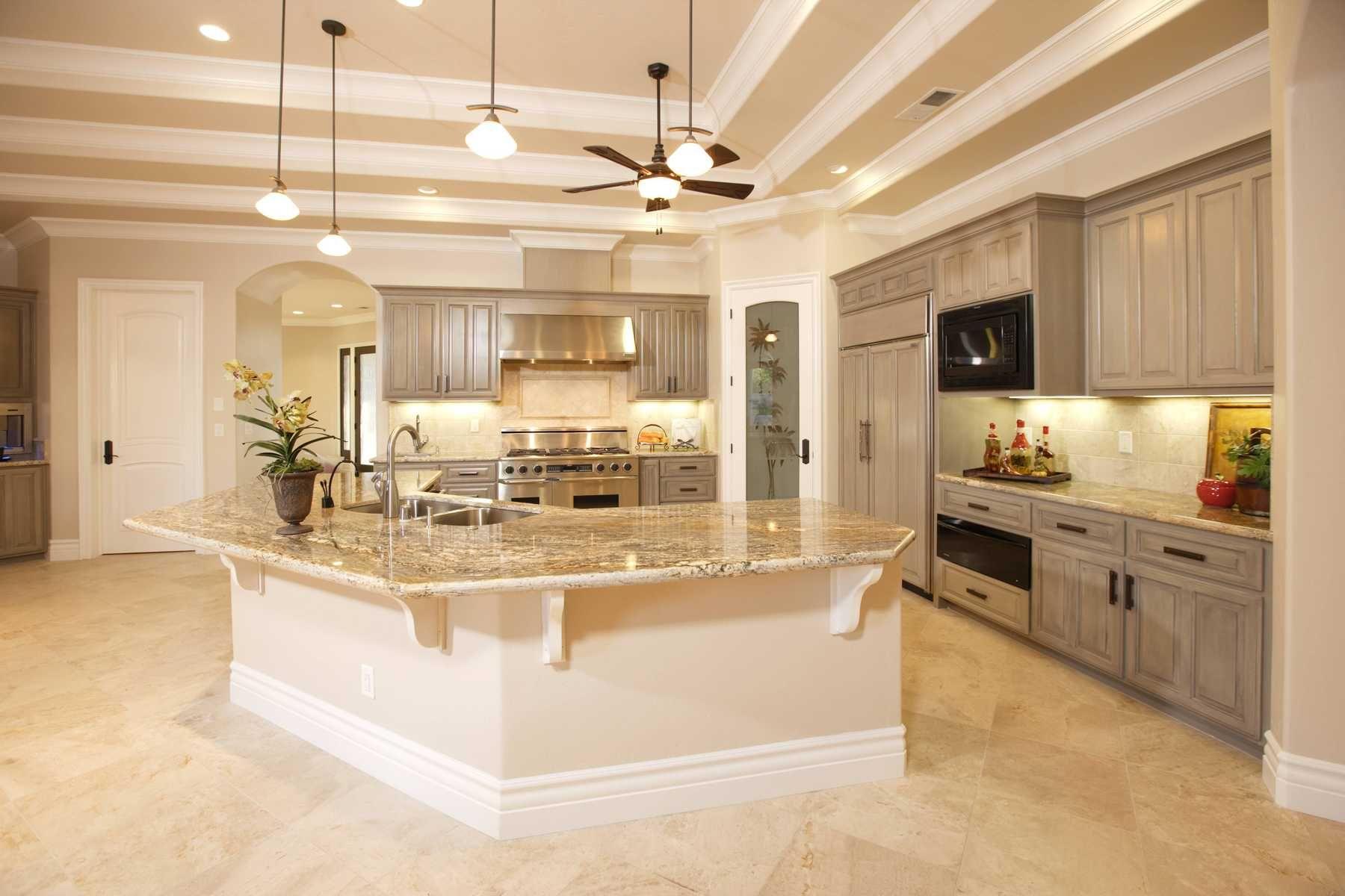 Phong cách trang trí nhà bếp tối giản hiện đại