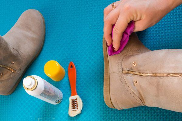 Ayakkabı temizleme