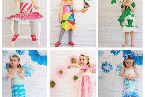 Cách làm trang phục tái chế cho bé cực đẹp đơn giản, dễ tìm, dễ làm