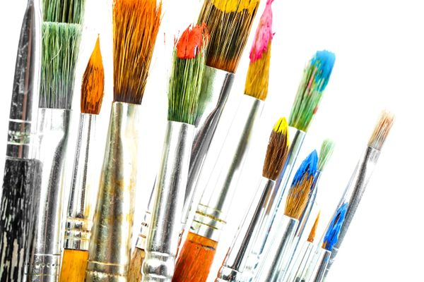How to Clean your Old Paint Brushes | Get Set Clean