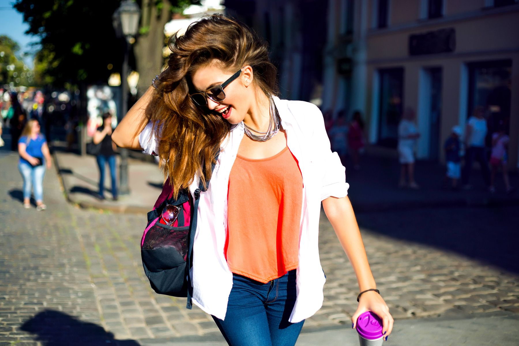 Outfits with wider spectrum of colours