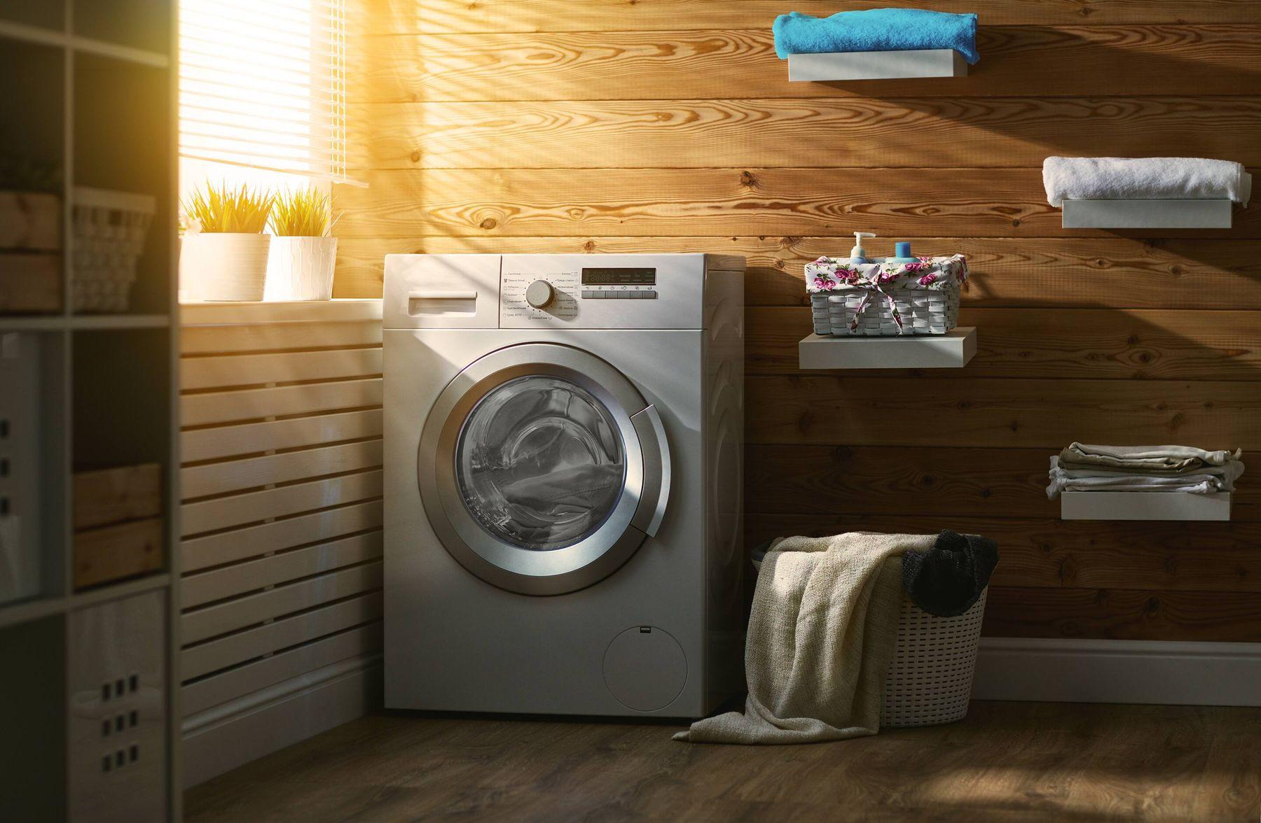 Çamaşır Makinesi ve Banyo Dekorasyonu