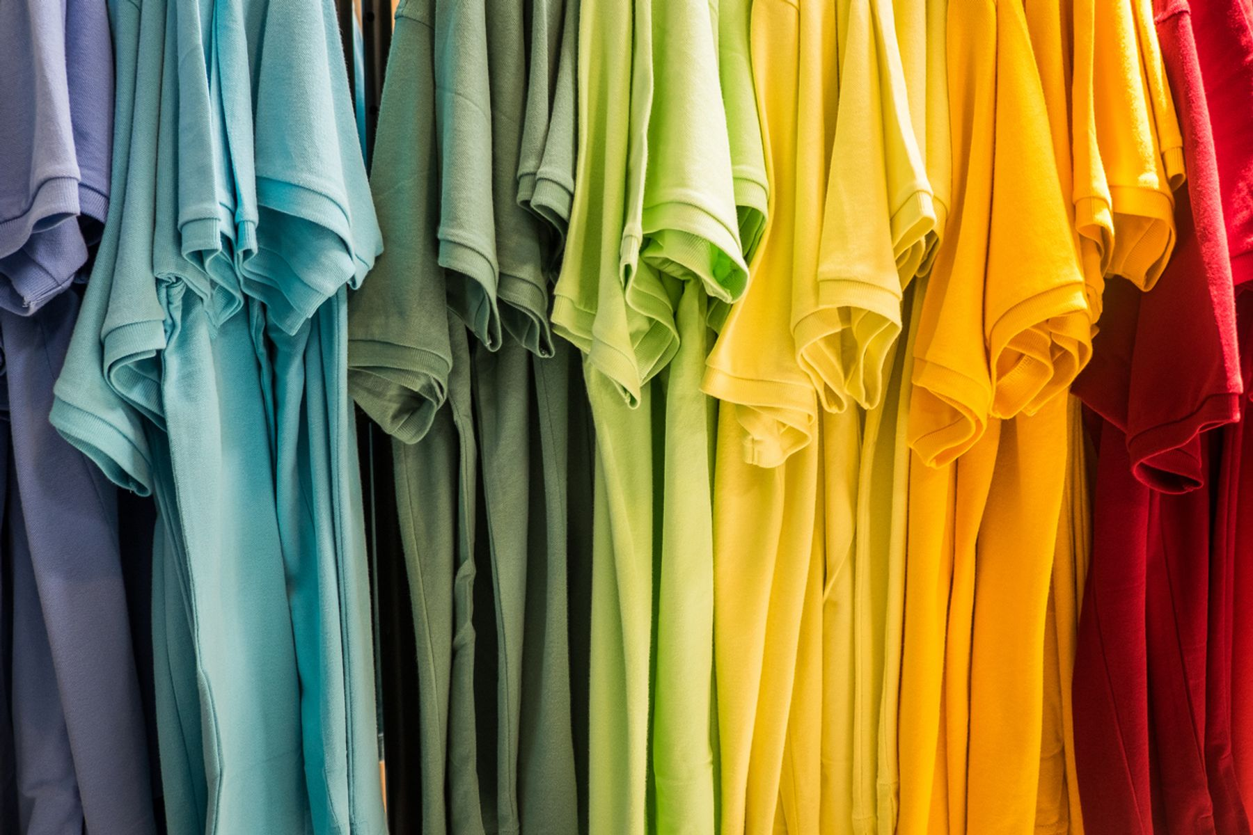 Coloured clothes fading after multiple washes