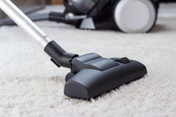 vacuum on a carpet