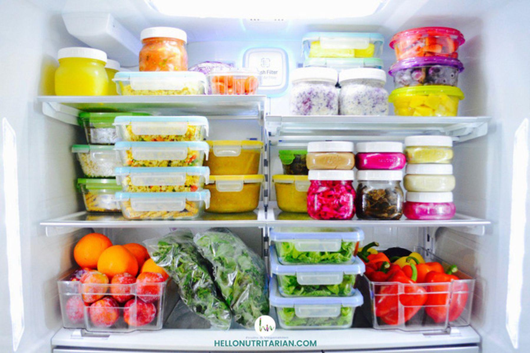 Bảng thời gian bảo quản đồ ăn trong ngăn đá