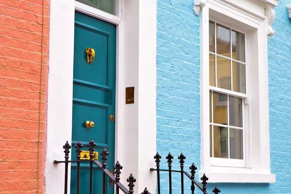 màu sơn cổng đẹp
