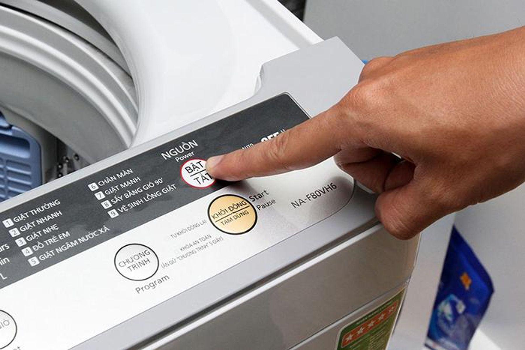 Sử dụng máy giặt, máy rửa bát tối đa công thức