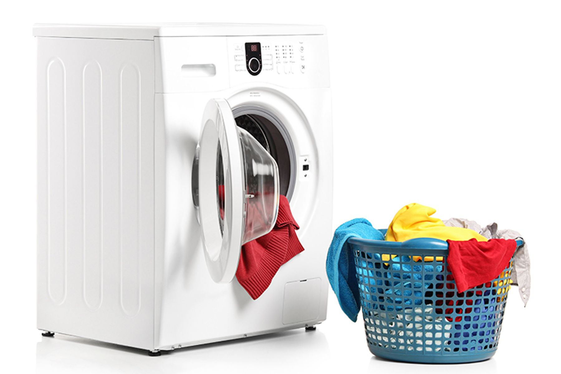 Doing the laundry
