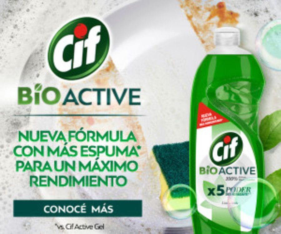 Cif Bio Active Limón Verde