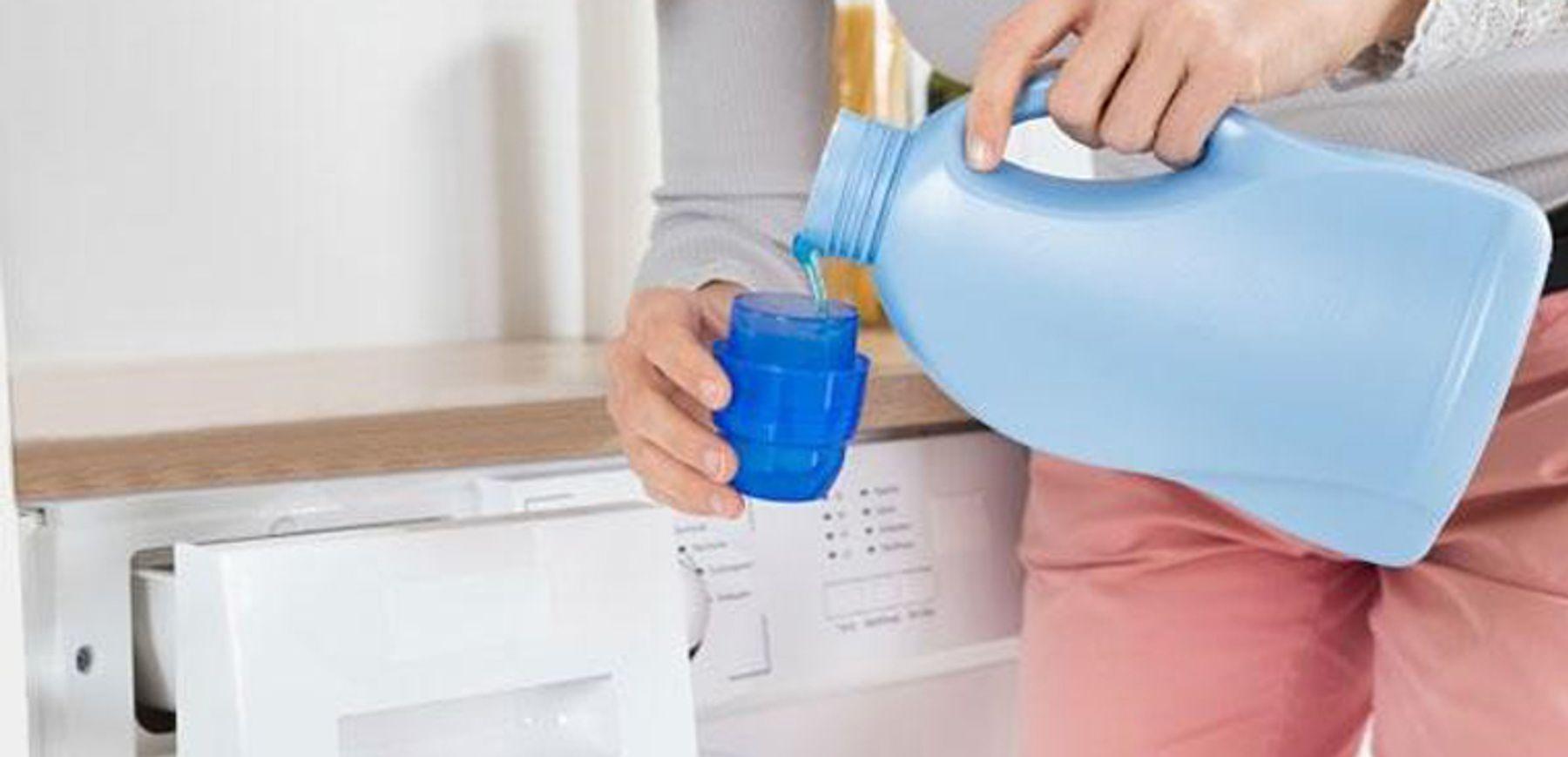Sử dụng nước xả vải đúng cách cho máy giặt