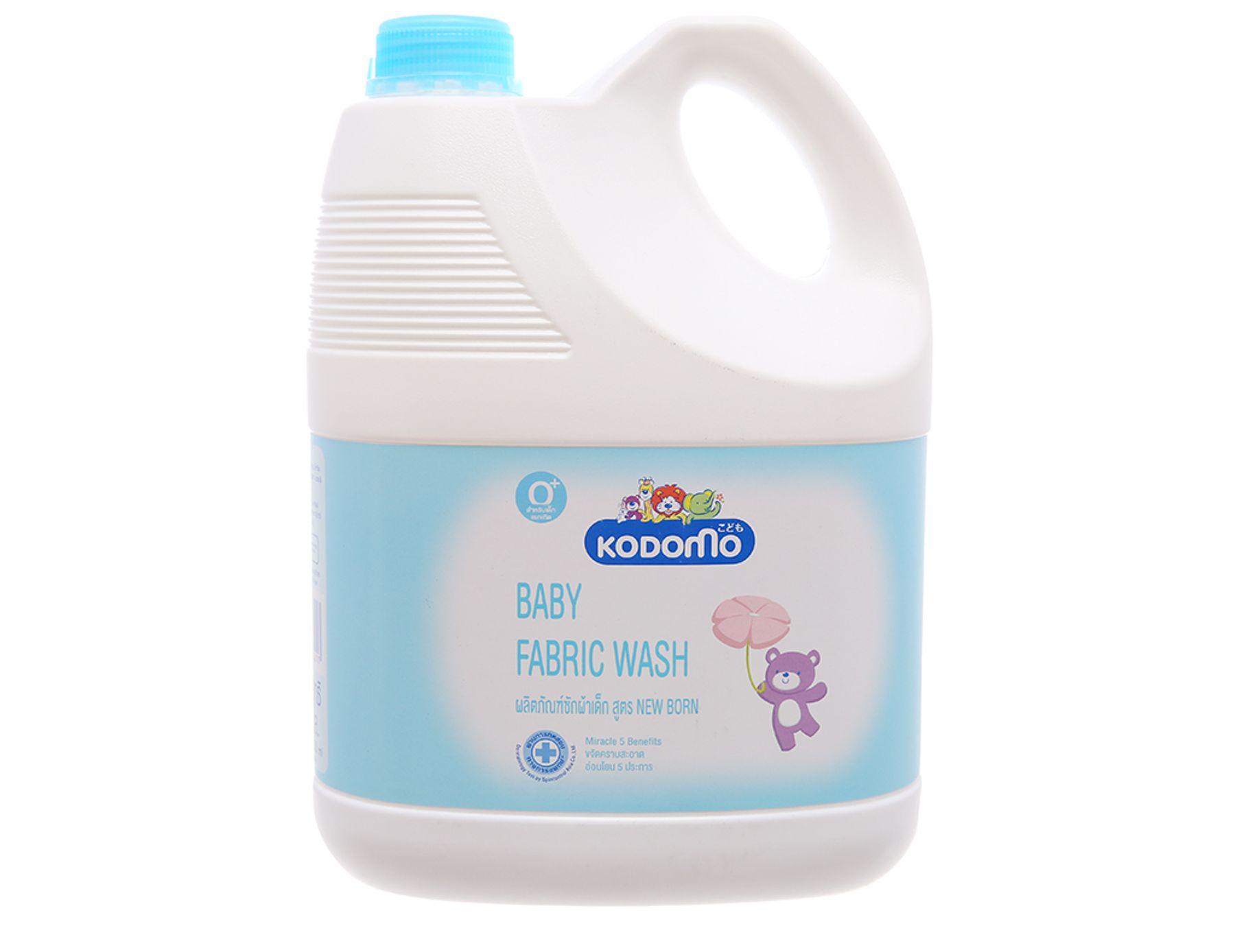 Nước giặt cho trẻ sơ sinh Kodomo