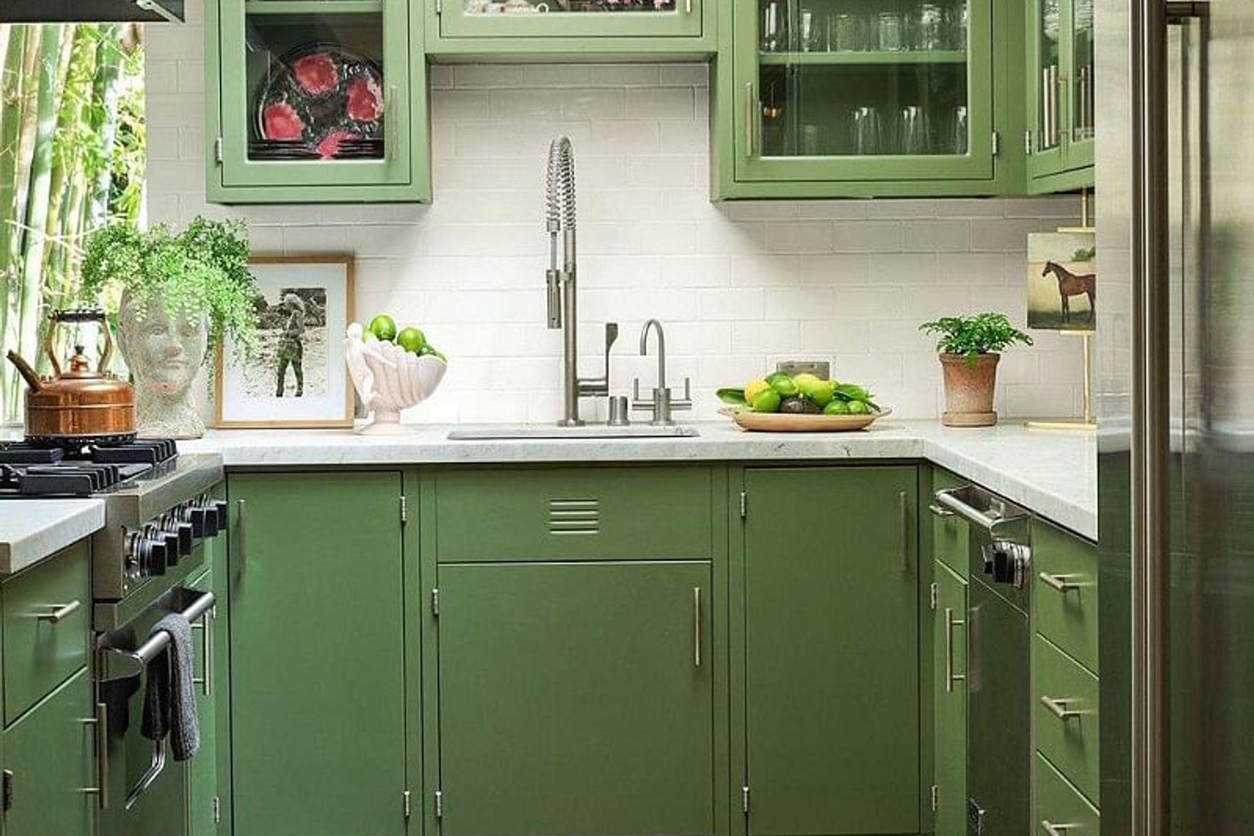cách trang trí nhà bếp nhỏ