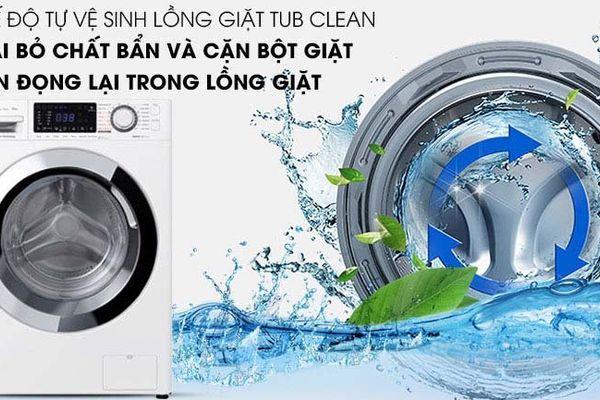 Chế độ tub clean tự vệ sinh lồng giặt