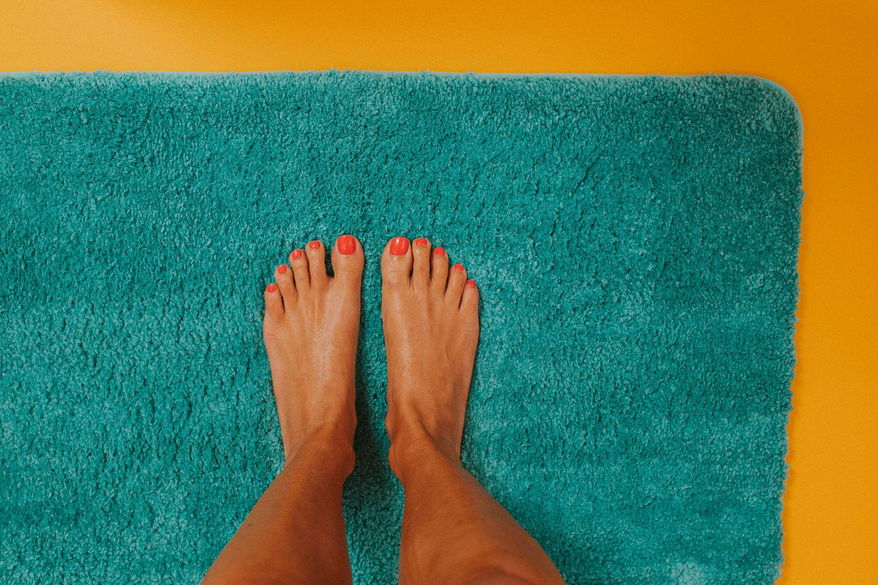 clean shower mats
