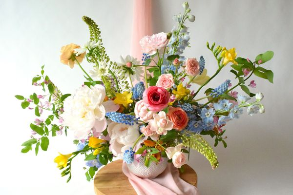 Cách cắm hoa