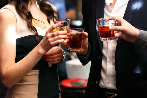 How to Clean Whiskey Stains from the Dress You Wore at Office Party shutterstock 280760588