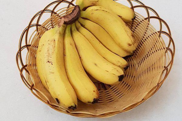 Bananenflecken entfernen