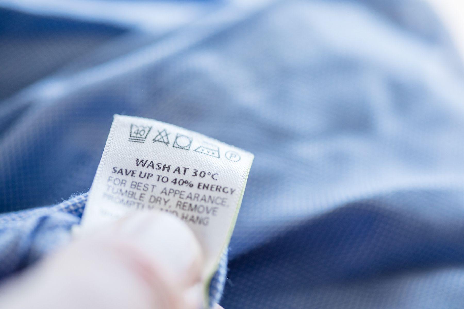 Laundry care label