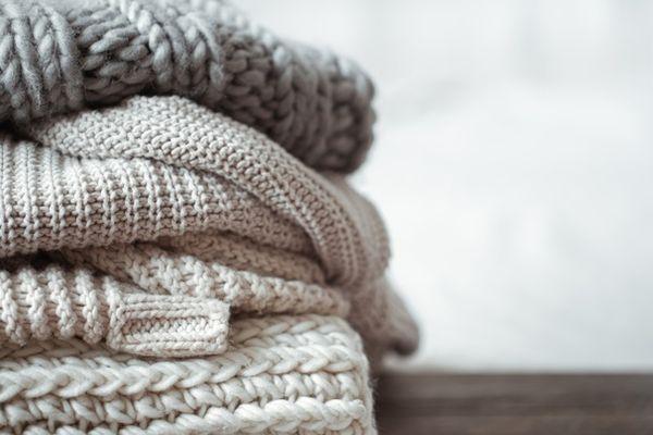 Bảo quản áo ấm trong tủ