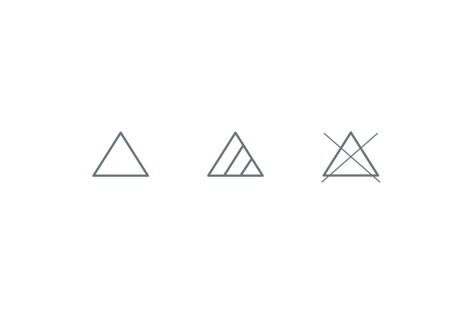 Bleaching symbols