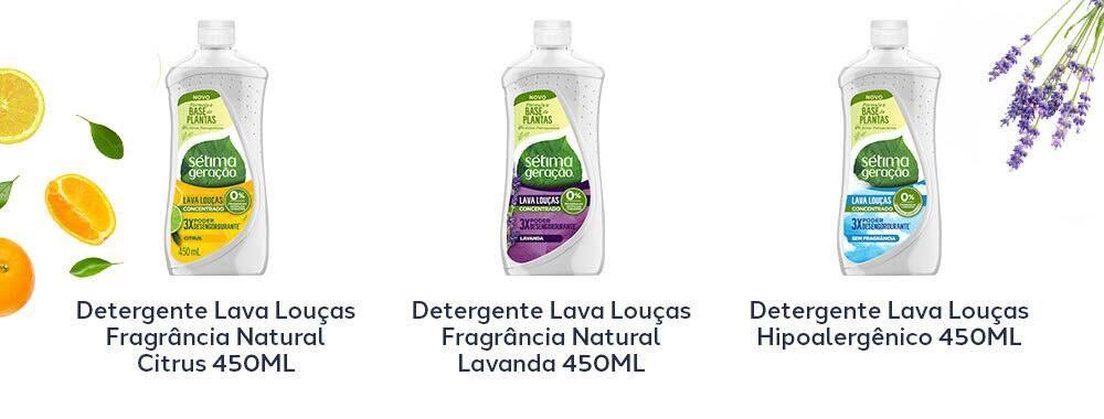 Linha de Detergente de Louça