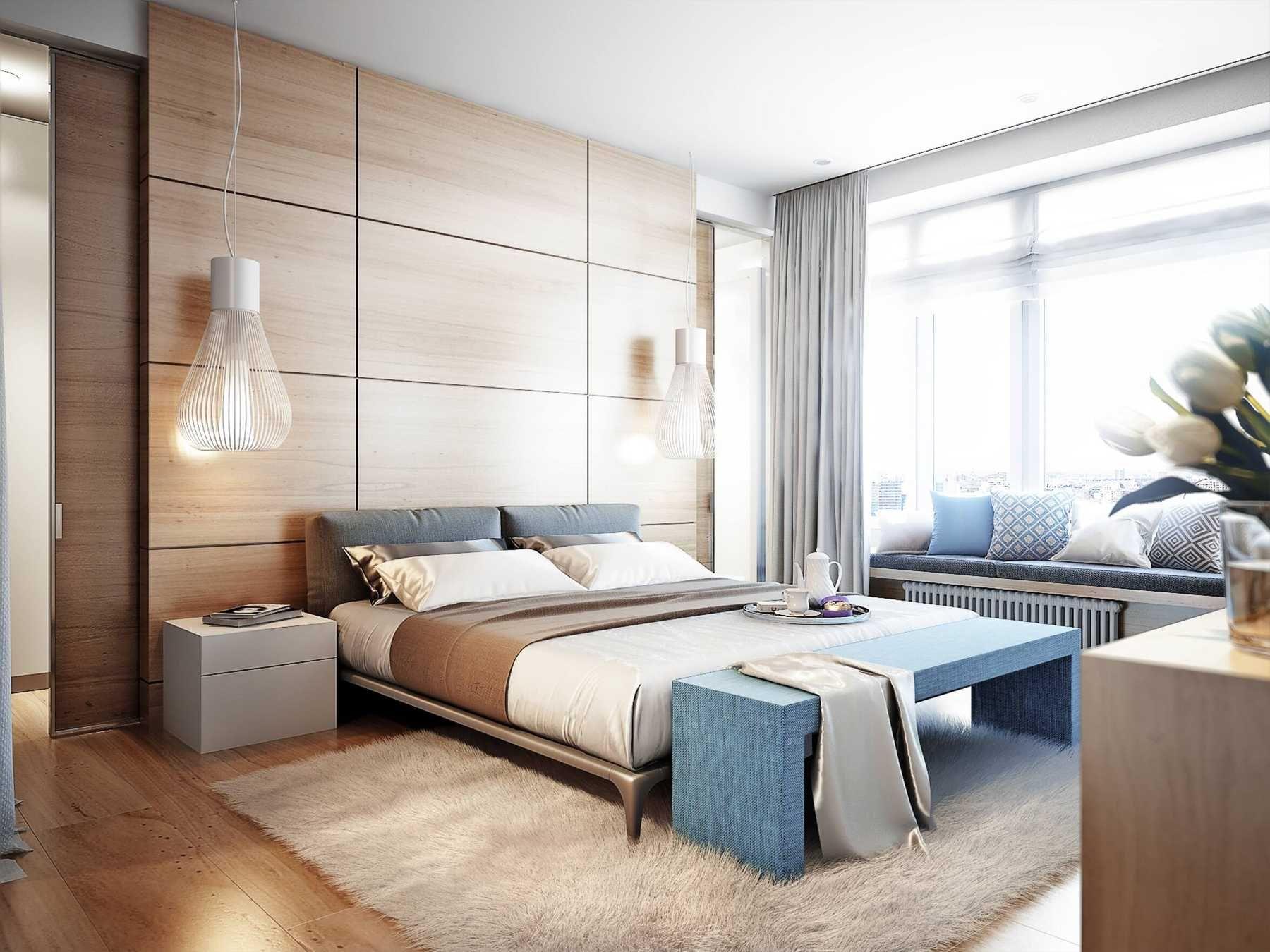 Bố trí phòng ngủ không gian thoáng đãng