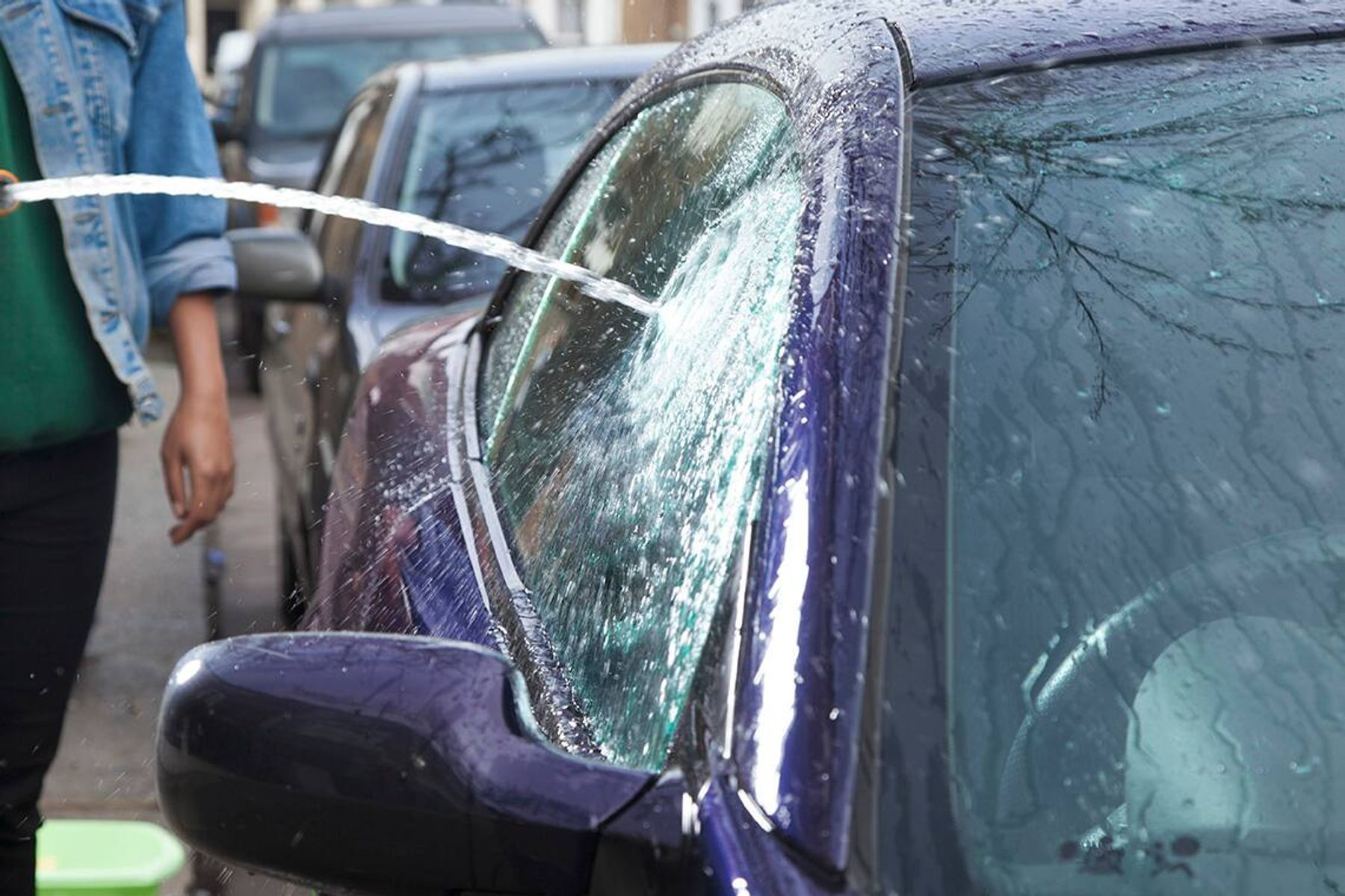 reinigung von autos