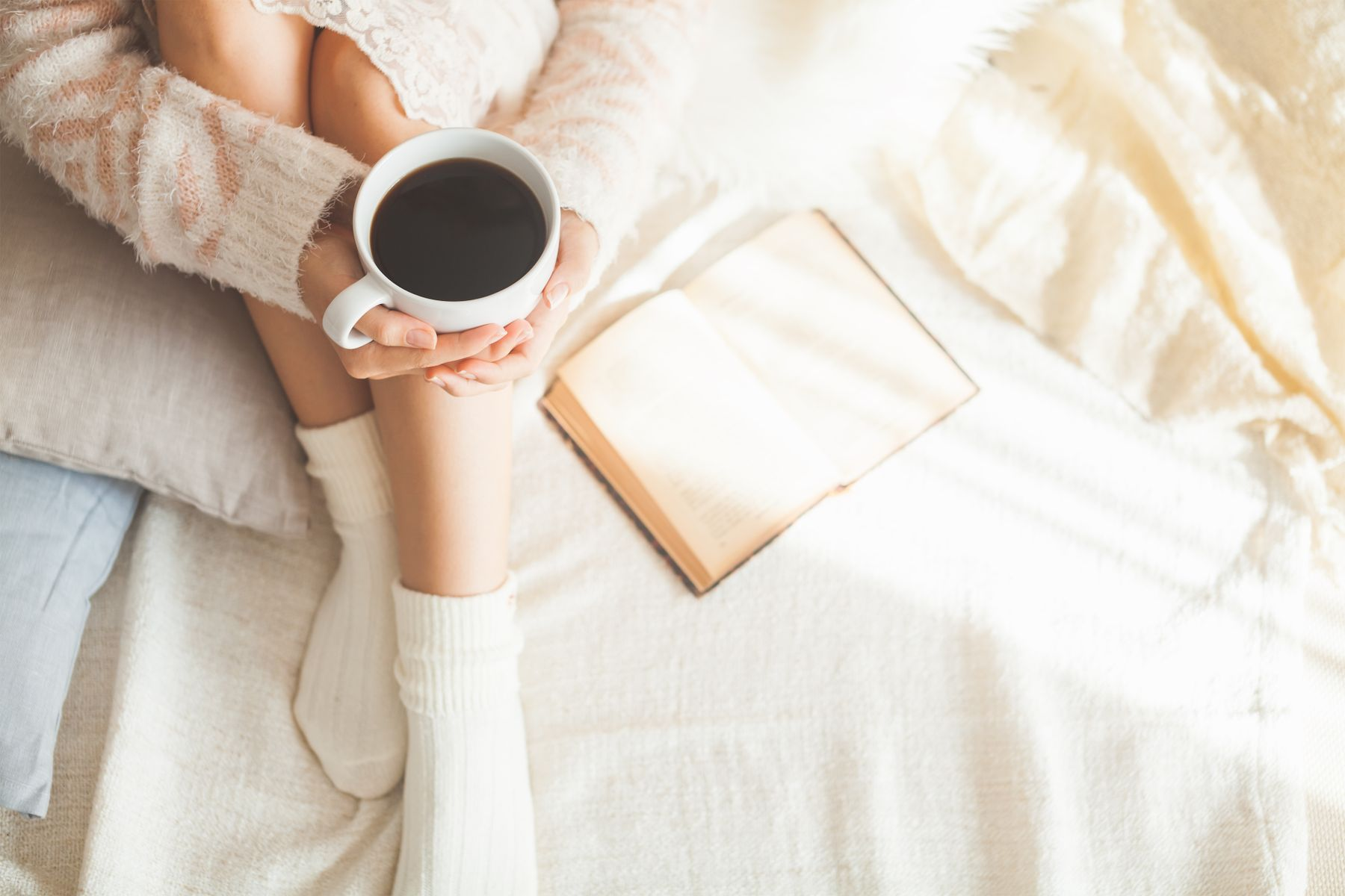 How to Remove Coffee Stains from Your Blanket shutterstock 223235353