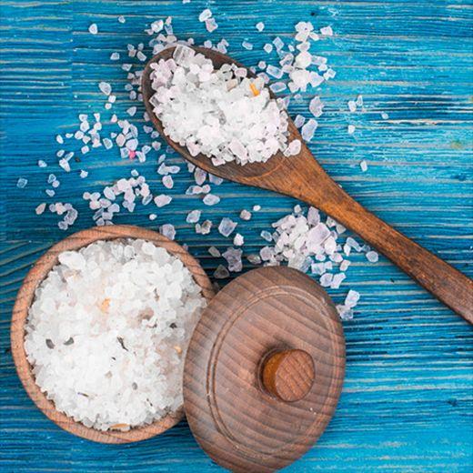 ngâm nước muối trước khi dùng