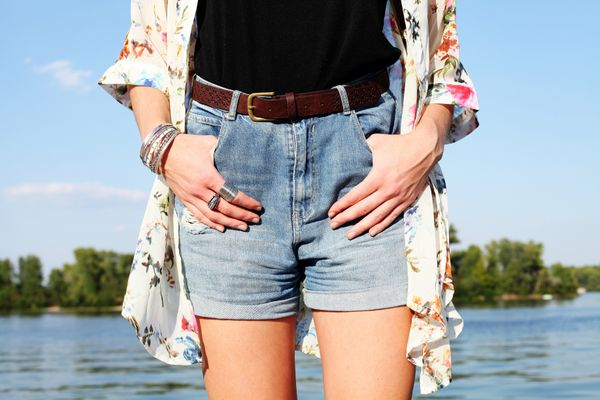 Love Your Denim Shorts shutterstock 309986876
