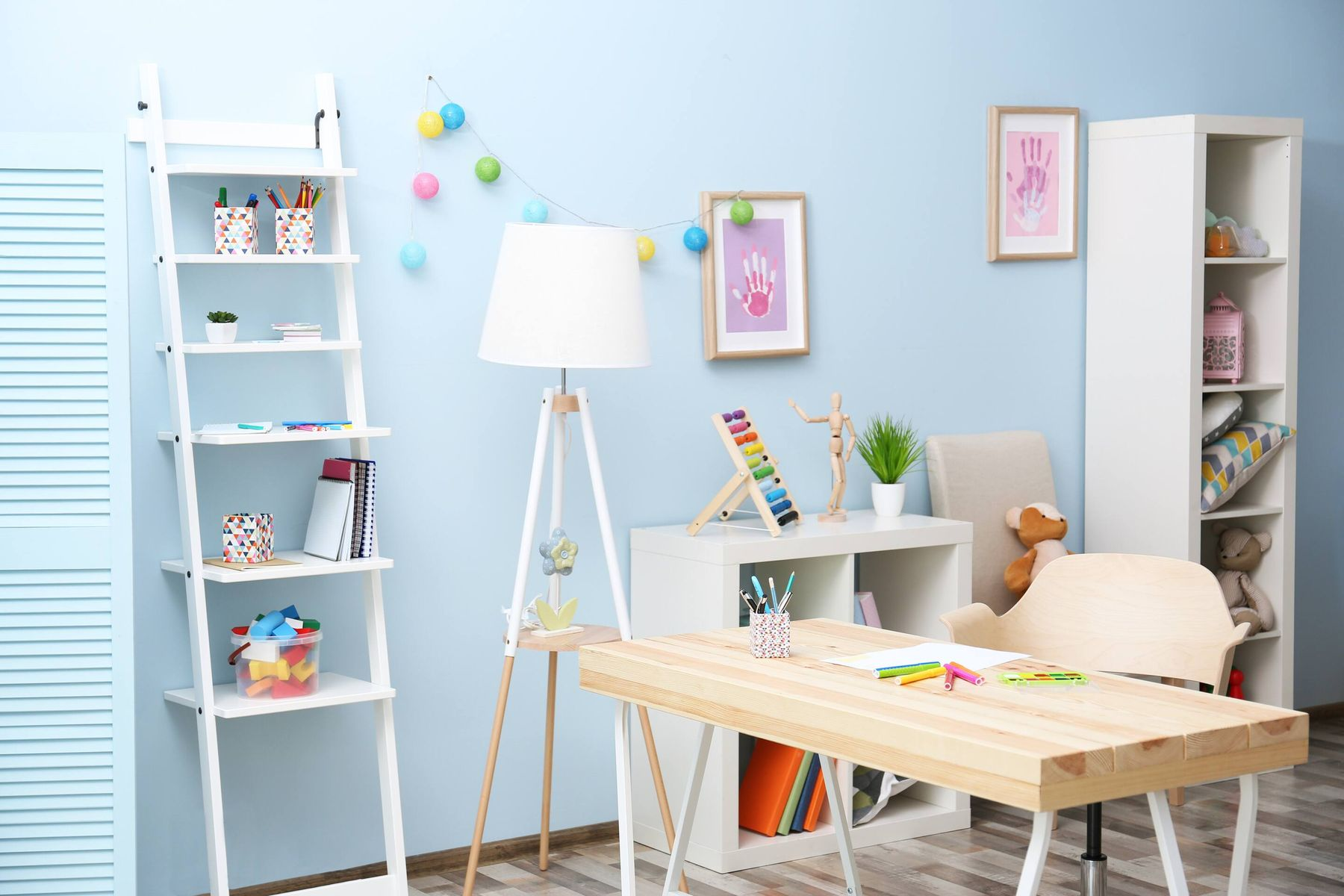 4) Kids' Room Surfaces