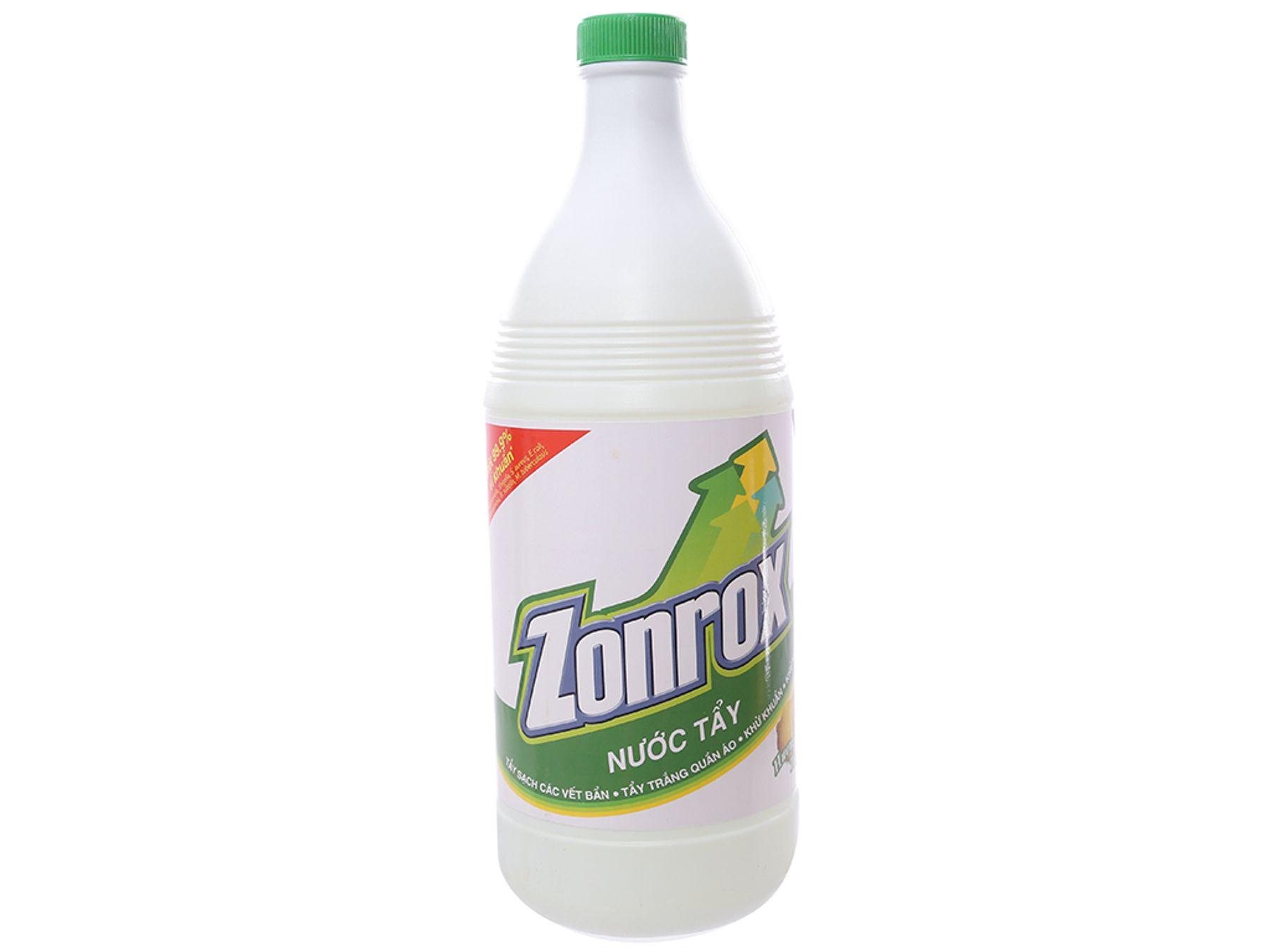 Thuốc tẩy quần áo Zonrox