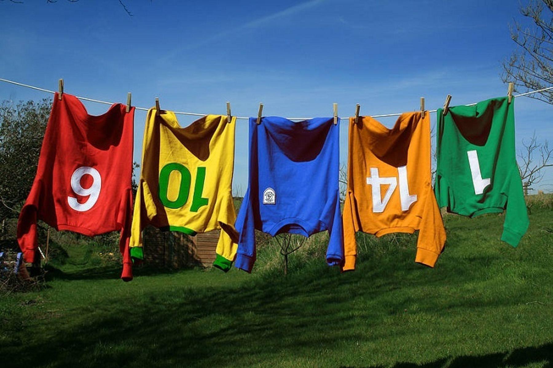 Hướng dẫn cách giặt đồ bóng đá