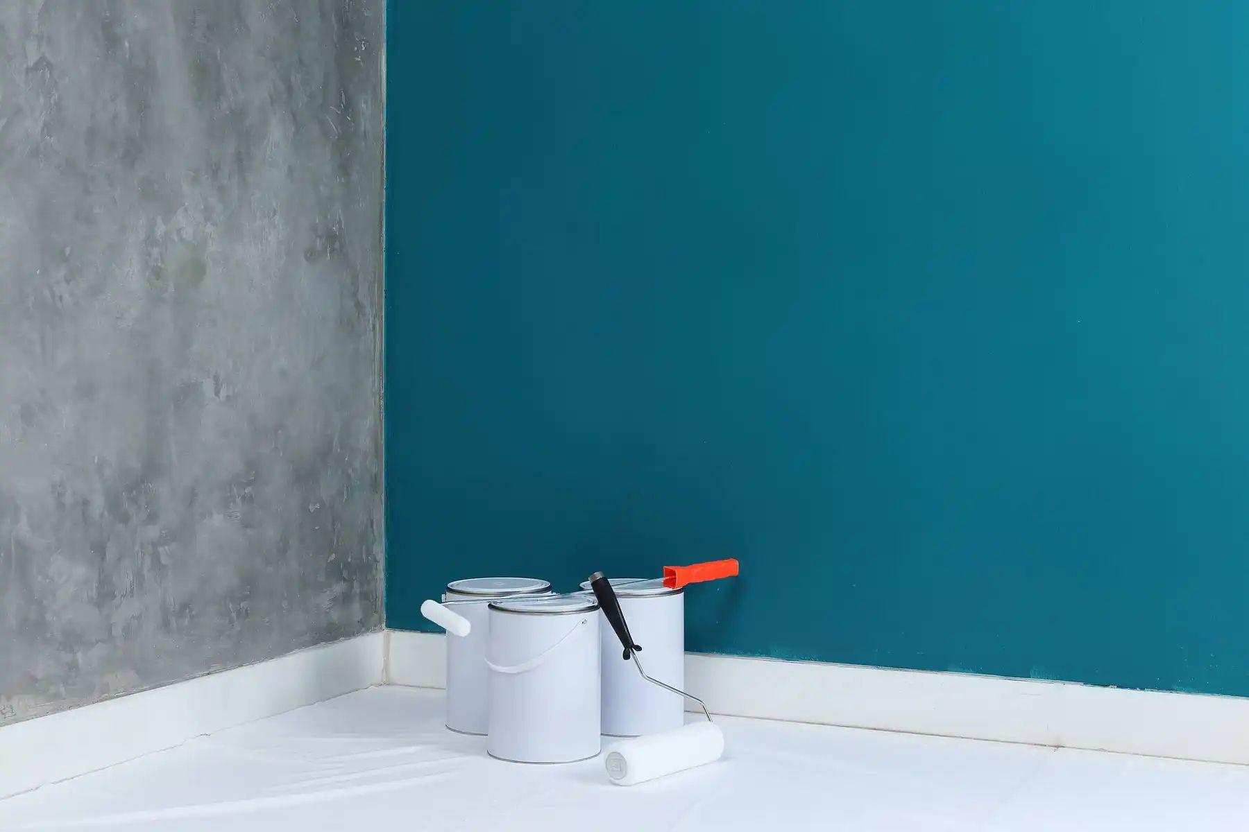 Cách tự sơn tường nhà cũ không cần di chuyển đồ đạc