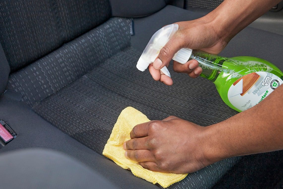 How to disinfect your car seats
