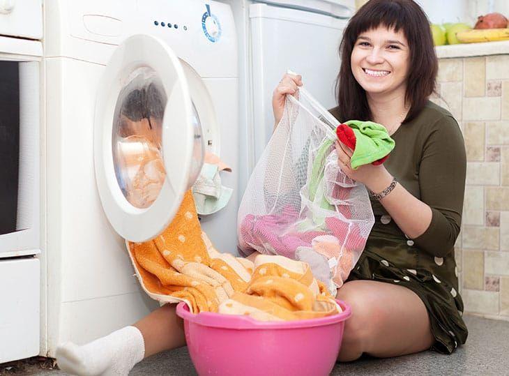 Bí quyết dùng túi giặt đồ mang lại hiệu quả cao nhất