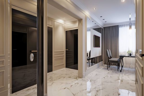 Polish Your Marble Floor to Reflect the Warmth of Your Home