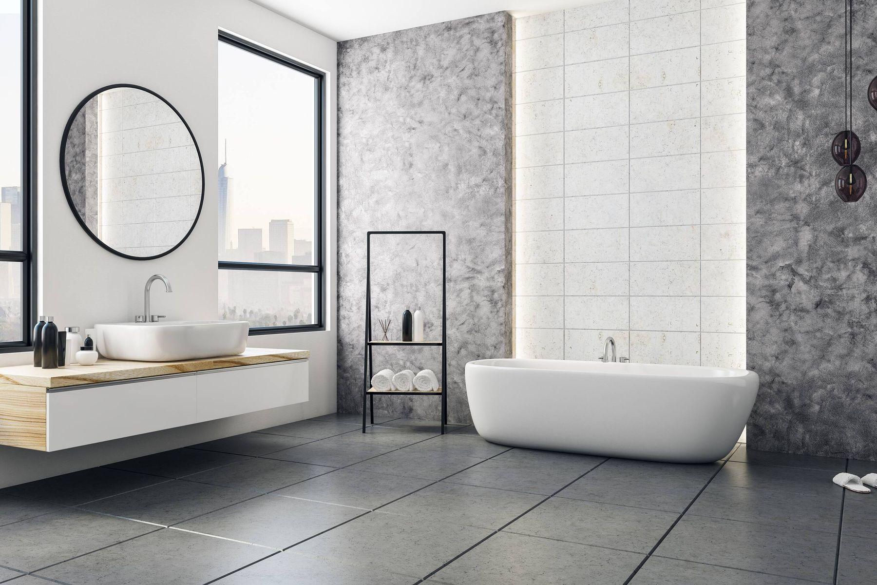 Mở cửa để tăng lưu thông không khí trong nhà tắm, toilet