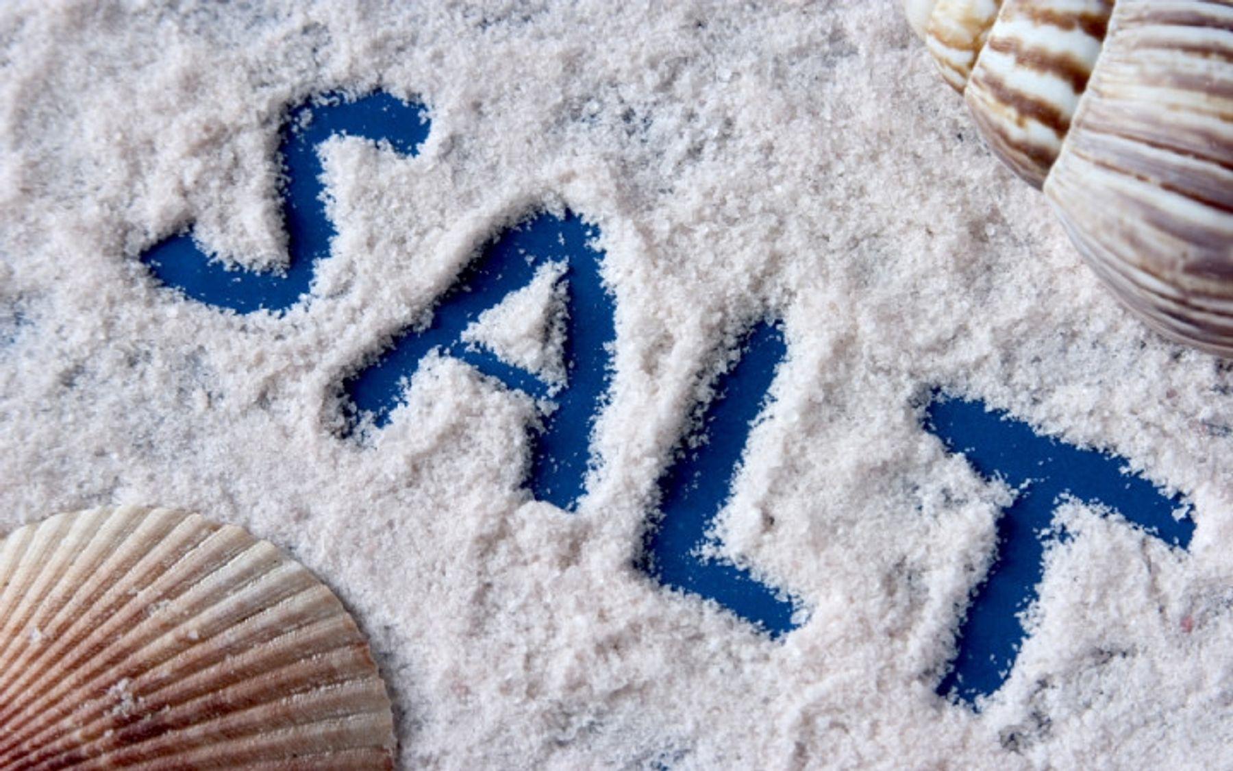 dùng muối biển